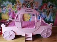 Princess carriage single bed
