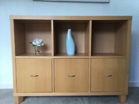Sideboard - modern beechwood perfect condition