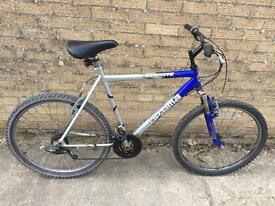 "Optima Reactive Mountain Bike, 22"" Frame, Serviced, Free D-Lock, Lights, Delivery. Warranty"