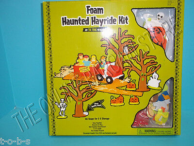 Halloween Kids Art Craft Project Foam Haunted Hayride Spooky Scary Kit ](Craft Foam Halloween Projects)