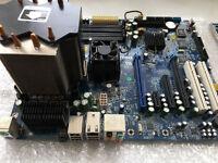 Procesor Intel Core CPU Q9450 2.66GHz +RAM + Fan