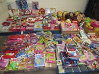 Job Lot 345 Disney Stock All Assorted Toy , Dinner sets , Cup Out Door Toys Much More ect...