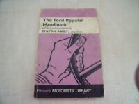 Ford Popular Handbook all models, by Stanton Abbey 1953-1959