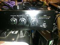 EAW commercial power amplifier. 120w 4ohm mono amp