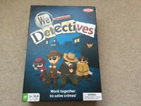Tactic We Detectives fun board game work together to solve crimes !