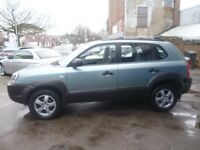 Hyundai Tucson CRTD Auto,1995 cc 2WD 5 door hatchback,FSH,full MOT,clean tidy Jeep,runs very well
