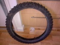 21 inch off road front tyre RM/CR/YZ/KX/KTM used in good condition
