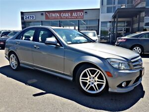 2009 Mercedes-Benz C-Class 350 AMG 4 MATIC - SUNROOF - LEATHER -
