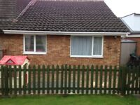 Green Wooden Picket Fence Panels - Pointed Top - Treated and Painted - 4 Panels H: 0.9M