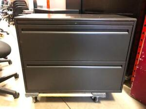 Haworth 2 Drawer Lateral Filing Cabinet - $150