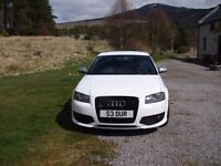 Audi S3 2.0 TFSI Quattro 261 Bhp...3dr White