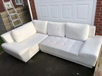 Corner sofa with bed option FREE DELIVERY IN LIVERPOOL