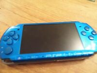 Blue Sony PSP