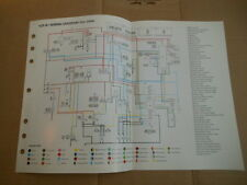 OEM Yamaha Wiring Diagram YZF-R1 | eBay