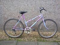 Lady's Raleigh Cassis Town and Country Mountain Bike