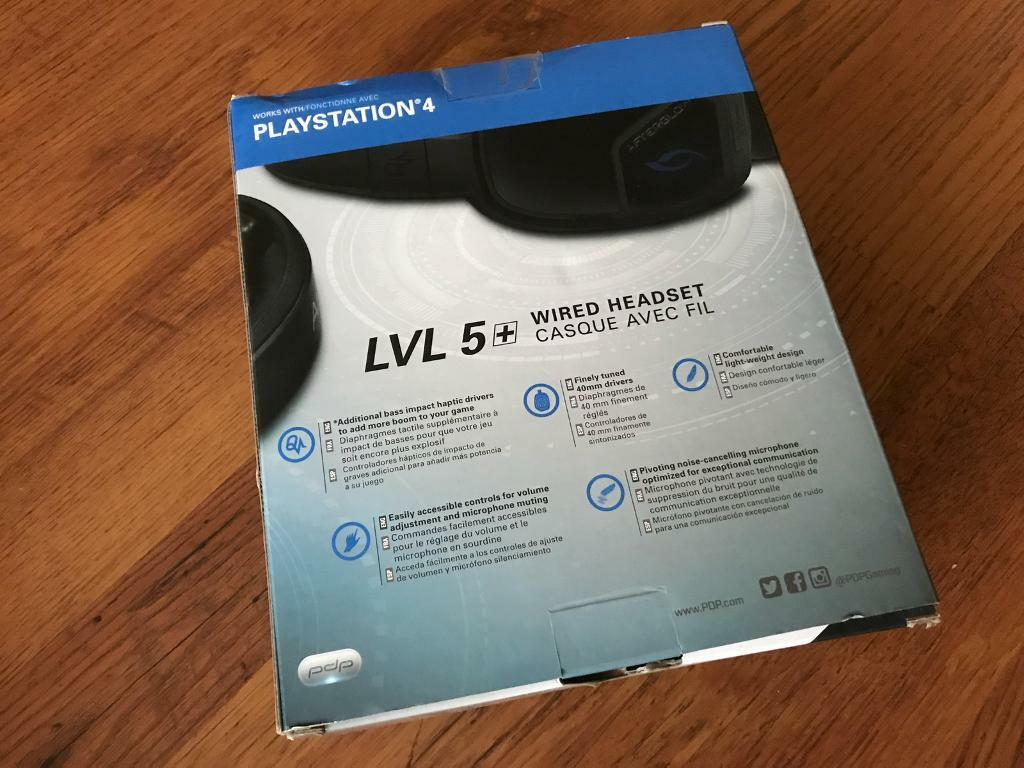 Afterglow LVL 5 Plus Bass Boost Stereo Gaming Headset. PS4 | in ...