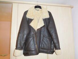 Leather/Sheepskin Flying Jacket