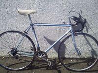 Raleigh Rapido retro road bike - needs work