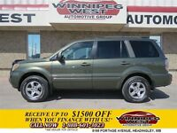 2006 Honda Pilot EX-L Edition, 4x4, Leather, Sunroof, DVD Entert
