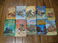 Terry Pratchett - books 1-10 of the Discworld series