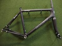 NEW Planet X Pro Carbon Road Race Cycling Bike Frame & Forks Medium Collection Or UK Shipping