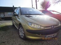 Peugeot 206 SW 2.0 HDI 90 - Excellent Runner - Very Reliable