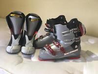 UK size 10 Salomon Ski boots