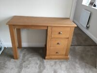 Dressing Table, Stool, Mirror and Bedside Cabinet