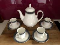 Royal Doulton coffee set - Sherbrooke collection