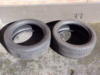 """2 x Goodyear Excellence 215 50 17"""" Part Worn Tyres"""