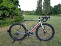 Cannondale SuperSix EVO carbon road bike with warranty.