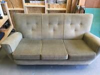 FREE Sofa. Medium size. Nice fabric condition