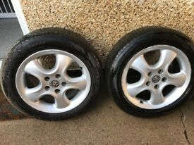 Vauxhall alloy wheels x 4