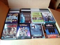 Dvds Over 100 + in each box