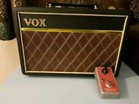Vox Pathfinder 10 and Brian May style treble booster