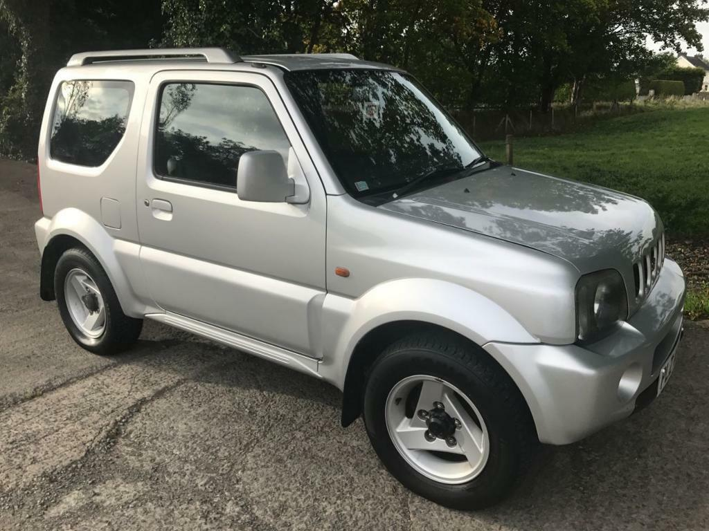 suzuki jimny 1 3 jlx mode 3d 83 bhp silver 2005 in ballynahinch county down gumtree. Black Bedroom Furniture Sets. Home Design Ideas