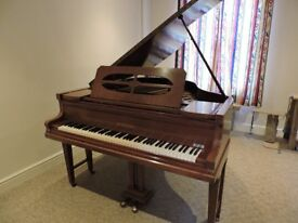 Baby Grand Piano by JL Duysen