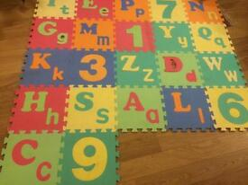 Children's play squares