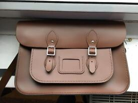 Leather Satchel - never used