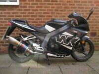 WK 125cc Sports Bike Learner Legal Nice bike