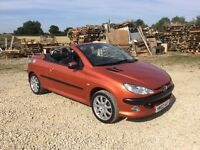 Peugeot 206 cc convertible not cabriolet soft top 308 cc golf BMW z3 318