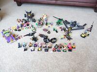 Job Lot of Batman Lego and Minifigs