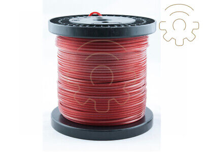 100 MT Wire Nylon Alumade in Red Coil for Trimmer Section Quadrat