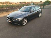 BMW 320D SPORT ESTATE 2013 PLATE LOW MILAGE