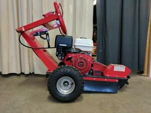 HOC - HONDA 13 HP STUMP GRINDER + 12 INCH DEEP + 9 TUNGSTEN CARBIDE BLADES + 2 YEAR WARRANTY + FREE SHIPPING CANADA WIDE