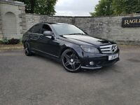 Mercedes C220 SPORT! AUTOMATIC *TOP SPEC* LOW MILEAGE/FULL SERV HIST!Not replica,BMW,AUDI,VOLKSWAGEN