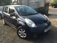 Nissan Note 1.6 16v SE Automatic 5dr LOW MILES *Full Service History* 1-Year MOT *03-Months Warranty
