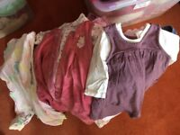 Large bag 3-6month girls clothes