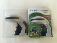2 Embossing Labelmakers - Dymo Omega