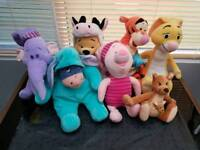 Disney Winnie The Pooh Soft Toy Bundle
